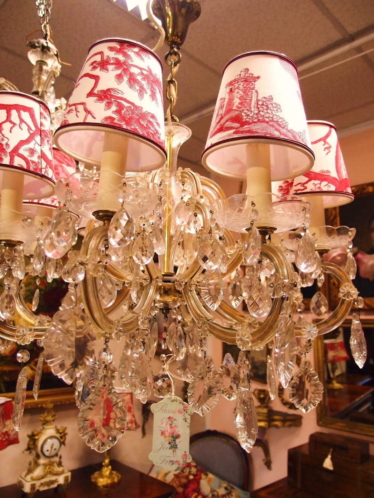 lampadari rimini : Lampadario Maria Teresa con gocce in cristallo