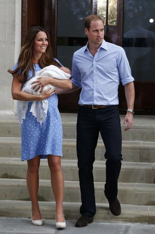 Royal Baby images first Pictures