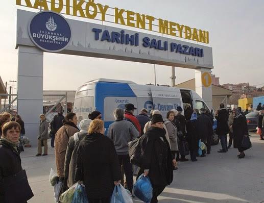 موسوعة أفضل أسواق اسطنبول الشعبية - سوق كاديكوي