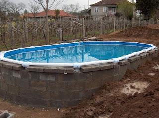 Construcción de piscinas de hormigón