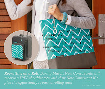 JOIN MY TEAM! FREE ROLLING TOTE
