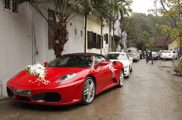 Cho thuê xe cưới Ferrari F430