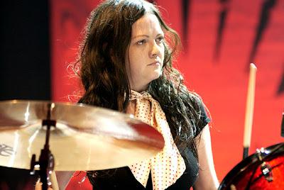 Meg White baterista fotos