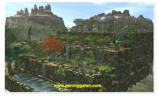 Mengungkap Sejarah Taman Gantung Babylonia, Kehebatan Peradabannya yang Maju www.peninggalan.com