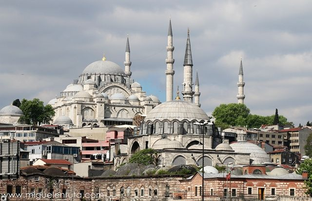Süleymaniye-Mosquée-Estambul