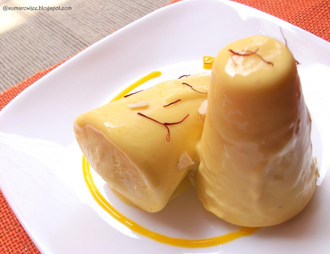 Cakes And More!: Saffron Mango Kulfi - With Saffron Extract ( A ...