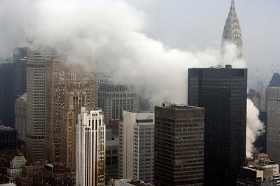 Maybach 2007 New York City Steam Explosion
