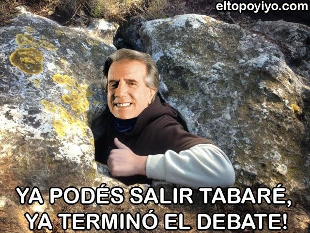 tabare humor debate vazquez uruguay