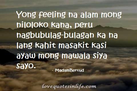 hugot tagalog quotes quotesgram