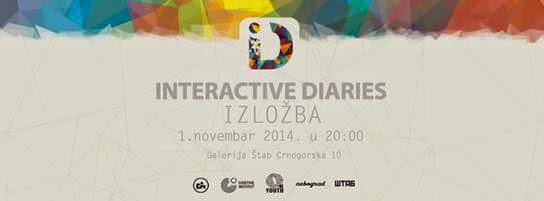 "Jednodnevna izložba ""Interactive diaries: Belgrade"""