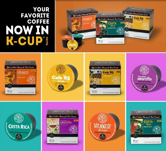 Coffee Bean and Tea Leaf K-cups