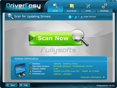 DriverEasy Professional 4.9.5 Incl. Crack