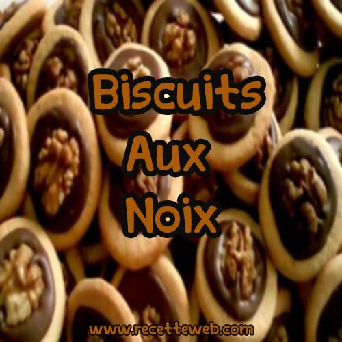 Recette Biscuits aux Noix