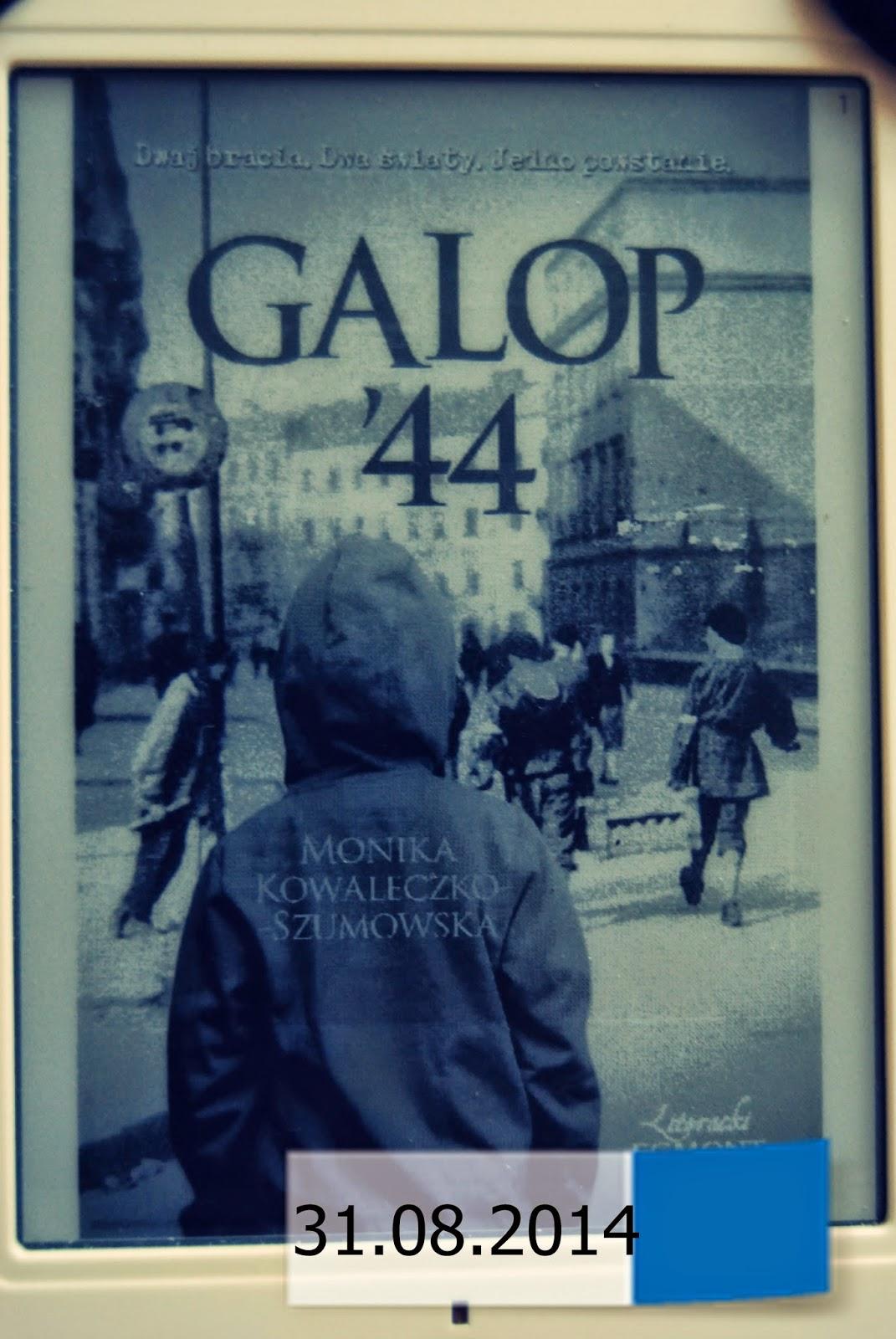 """""""Galop '44"""" Monika Kowaleczko-Szumowska"""