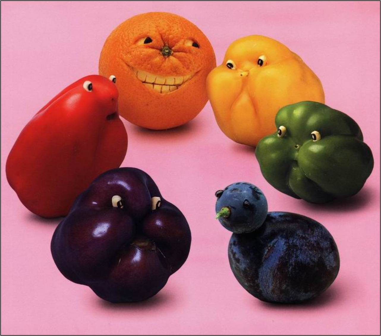 Поделка из овощей или фруктов фото