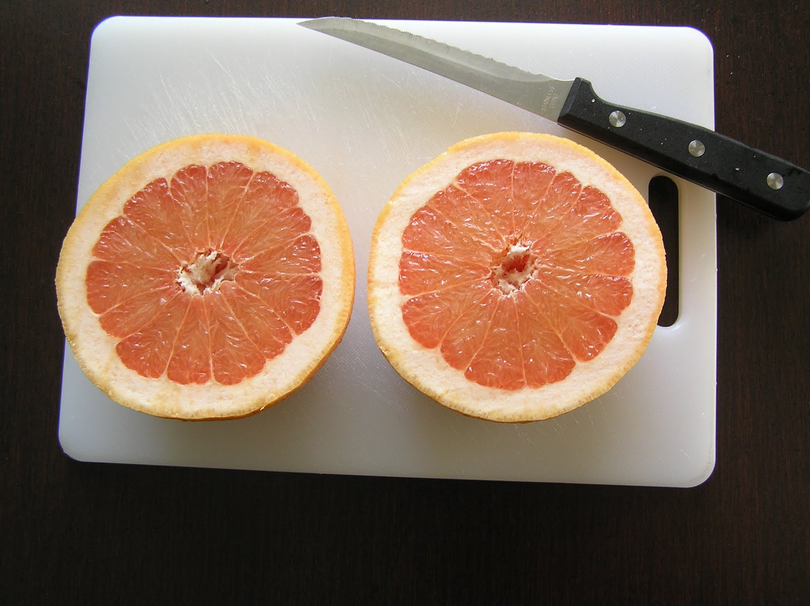 The Melting Pot: Grilled Grapefruit with Ginger and Brown ...
