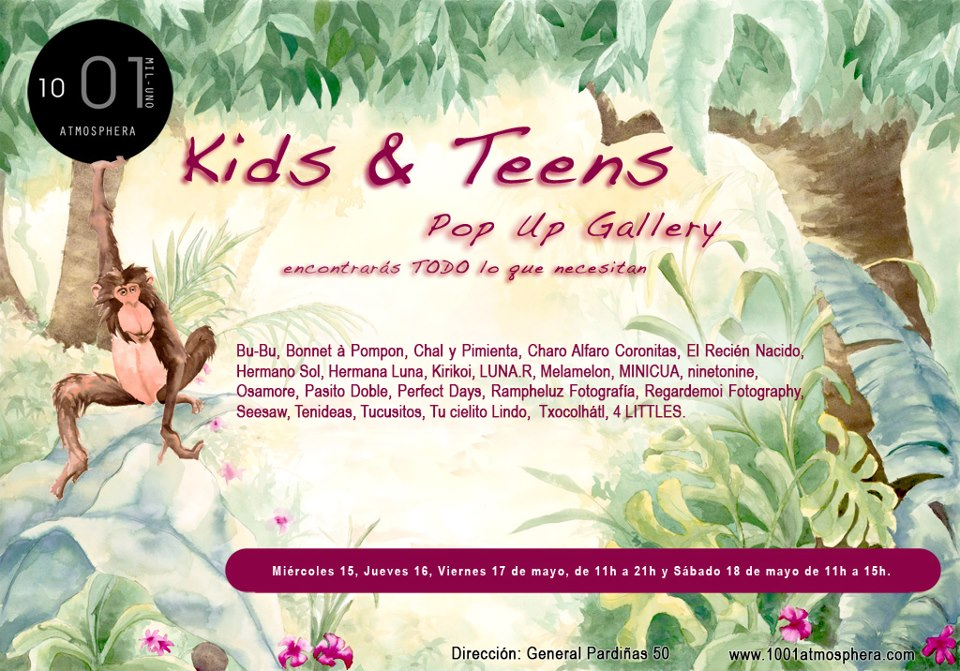 Kids Teens Pop Up Gallery