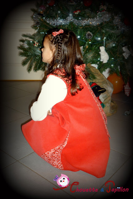 robe her little world sereine vue de côté