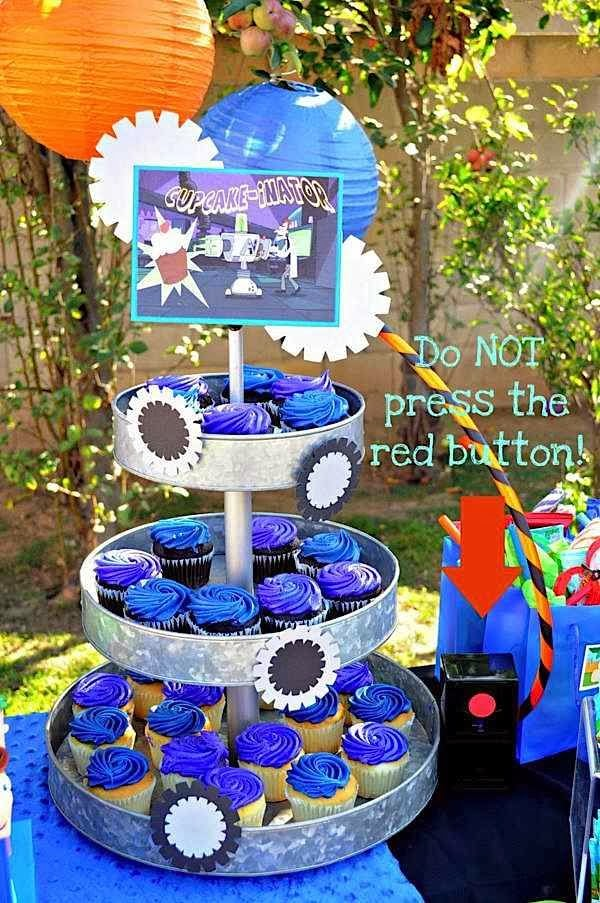 PHINEAS AND FERB DECORACION DE FIESTAS INFANTILES   PARTY IDEAS