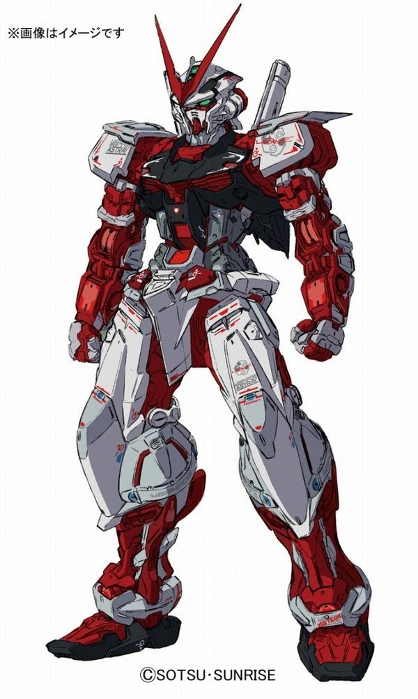 Real Grade Gundam Astray Red Frame official concept art 00