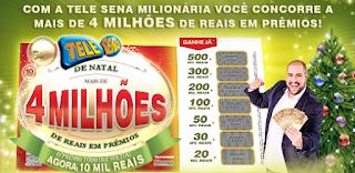 Prêmio todo dia Telesena Natal 2015