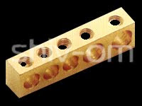 Brass Terminal Bars Manfuacturer, Brass Terminal Bars Supplier, Brass Terminal Barts India