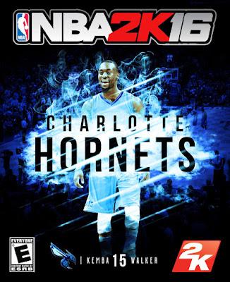 NBA 2K16 Custom Covers - Charlotte Hornets