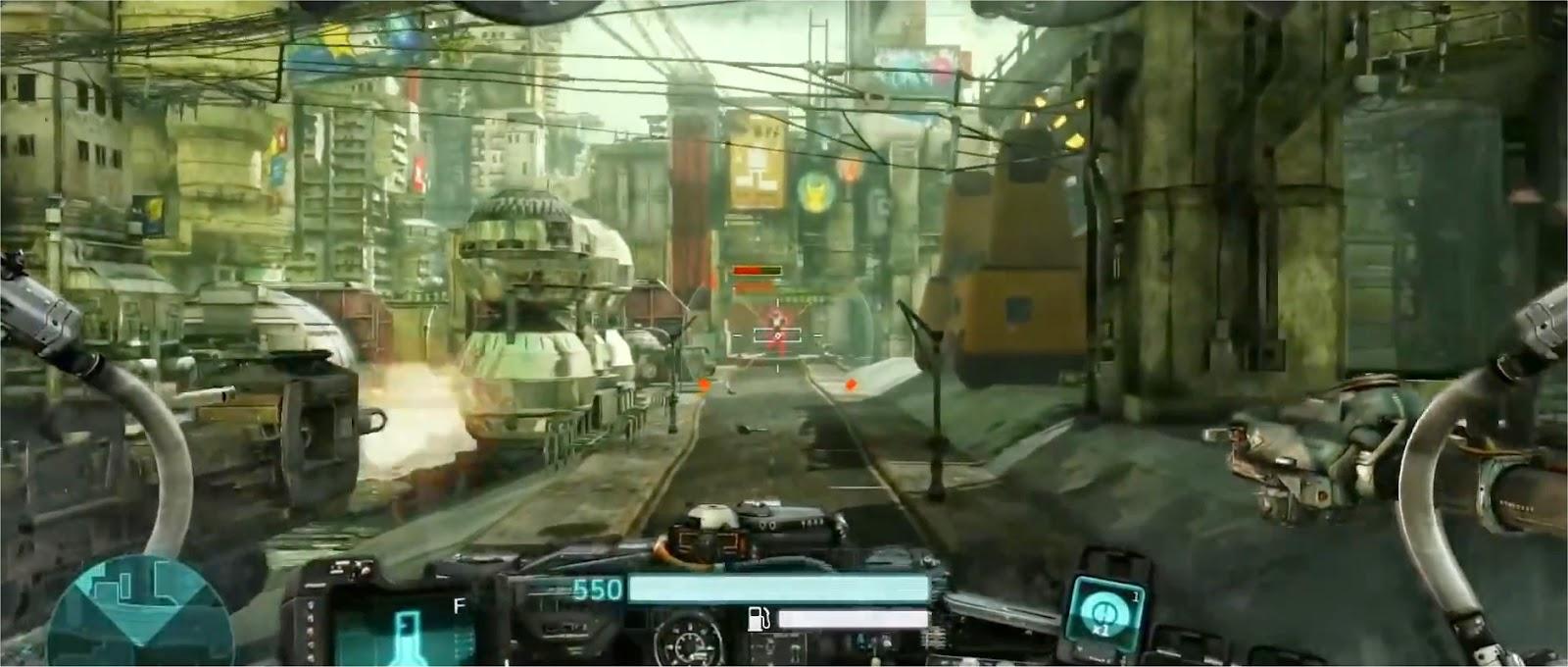 Hawken Cockpit