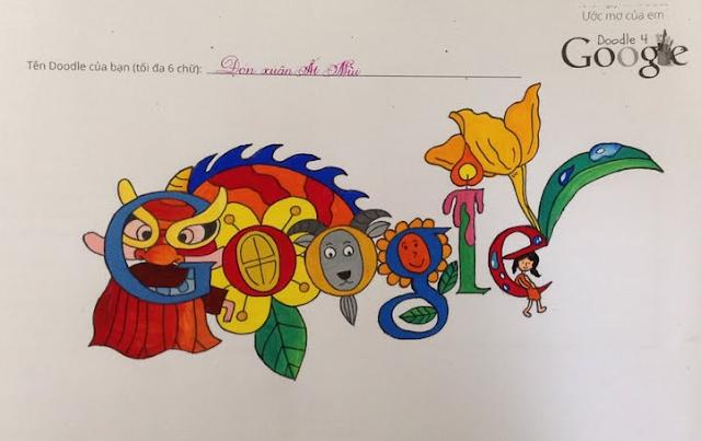 Google Công Bố Doodle Thắng Giải Đầu Tiên Tại Việt Nam!