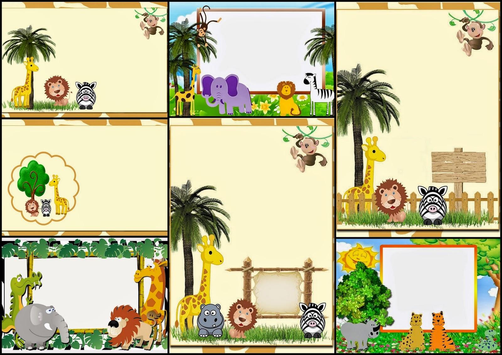 imagenes de animales de la selva para imprimir - Recursos Tic Infantil animales Recursos Tic Infantil home