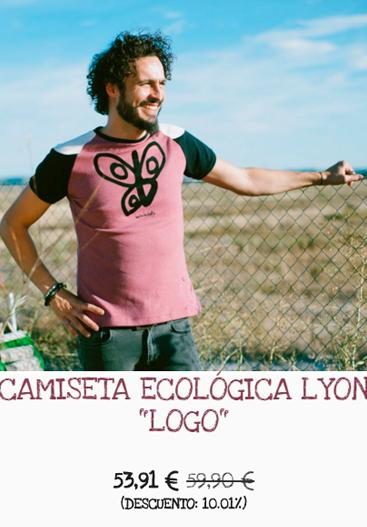 Camiseta de hombre  de algodón BIO y elaborada en España Bichobichejo
