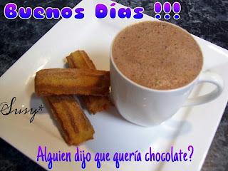 buenos dias desayuno taza de chocolate hermoso dias bendiciones