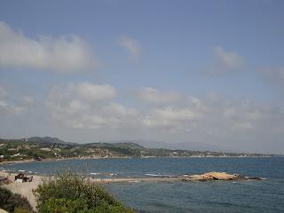 Platja Morro de Gos beautiful beach landscape