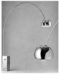 Architettura design arredamento pier luigi nervi for Lampada arco ikea