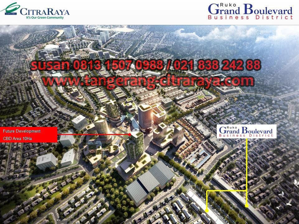 Ruko Grand Boulevard Citra Raya