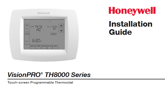 Honeywell VisionPRO TH8000 Manual  Download Manual PDF Online