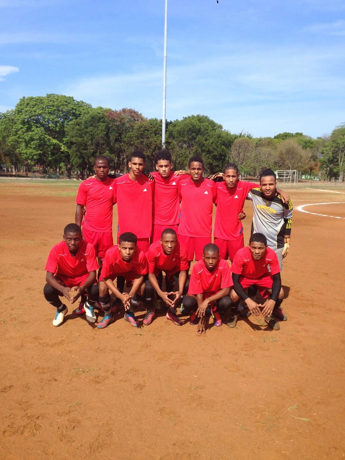 Leones de Alma Rosa Campeones-III Copa Balompié Dominicano.