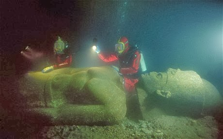 More Fun to TRAVEL: Lost City of Thonis-Heracleionin Egypt
