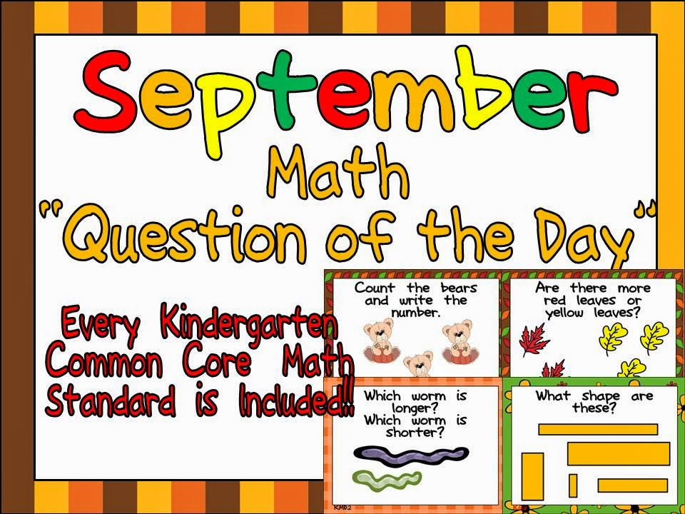 September Math Question of the Day