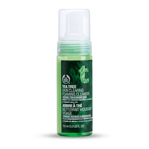 TEA TREE SKIN CLEARING FOAMING CLEANSER AVAILABLE @ Vazi