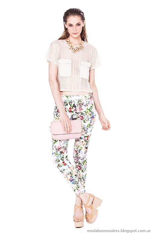Moda Basement verano 2015 ropa de mujer.