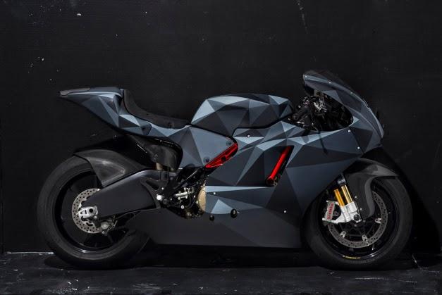 Ducati Desmosedici RR Modifikasi Motor Sport Terbaru versi Origami Camo DSC
