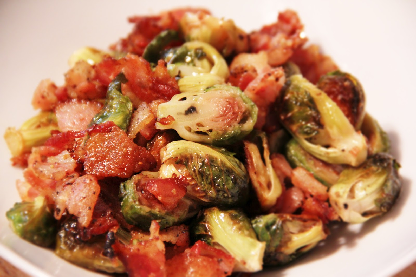 Brooklyn Salt : Roasted Brussel Sprouts and Bacon