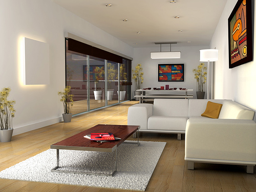 Minimalist living room furniture and interior designs for Minimalist living space