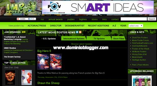 La mayor colección de poster y carteles de cine en Impawards