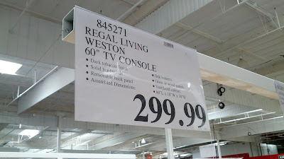 Regal Living Weston Entertainment Console deal at Costco