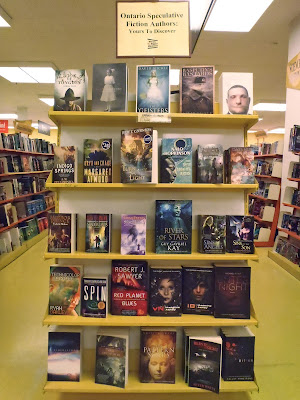 End-cap display in World's Biggest Bookstore