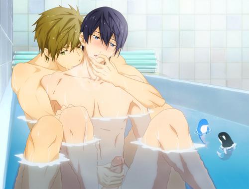 картинки голых аниме парней голых