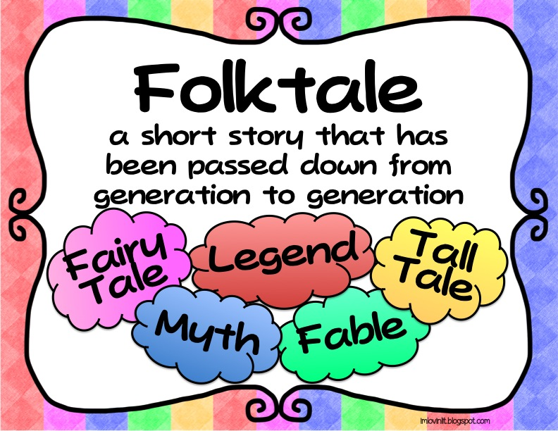 Folk tales fairy tales legends myths fables and tall for Tale definition