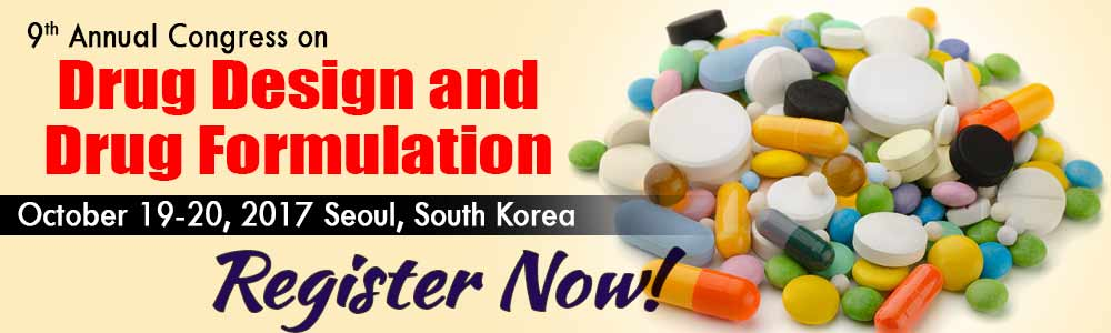 9<sup>th</sup> Annual Congress on Drug Design &amp; Drug Formulation